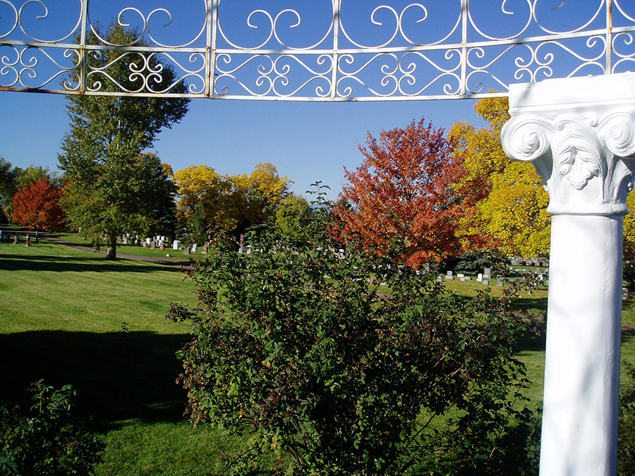 Fall View from Gazebo